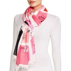 kate spade Accessories - Kate Spade Love Letter Scarf
